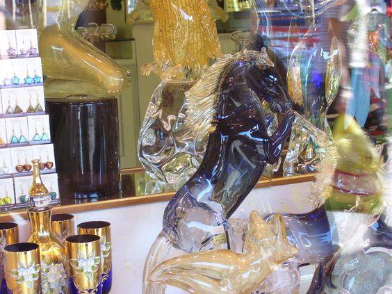 Cristal de Murano, Venecia