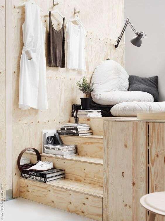 Letti Fuori Misura Ikea.Arredo Compact Living Idee Per Interni Idee Per Decorare La