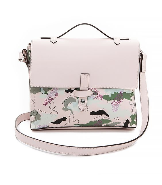 IIIBeCa by Joy Gryson Murray Street Cross Body Bag: Camouflage for the girl who would never wear camouflage.