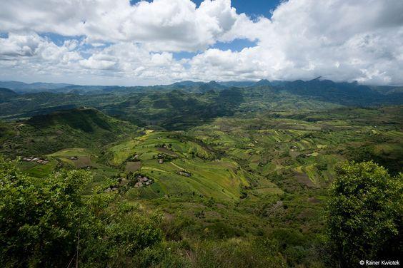 In der Region Asagirt – auf einer Höhe von 3.000 Metern – herrscht ein raues, sehr kaltes Klima. Menschen für Menschen hat dort 2006 ein integriertes ländliches Entwicklungsprojekt begonnen. (Foto: Rainer Kwiotek)
