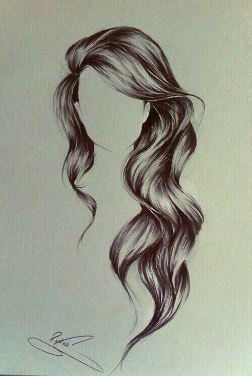 20 Easy Party Hairstyles For Long Hair How To Draw Hair Hair Art Long Hair Styles