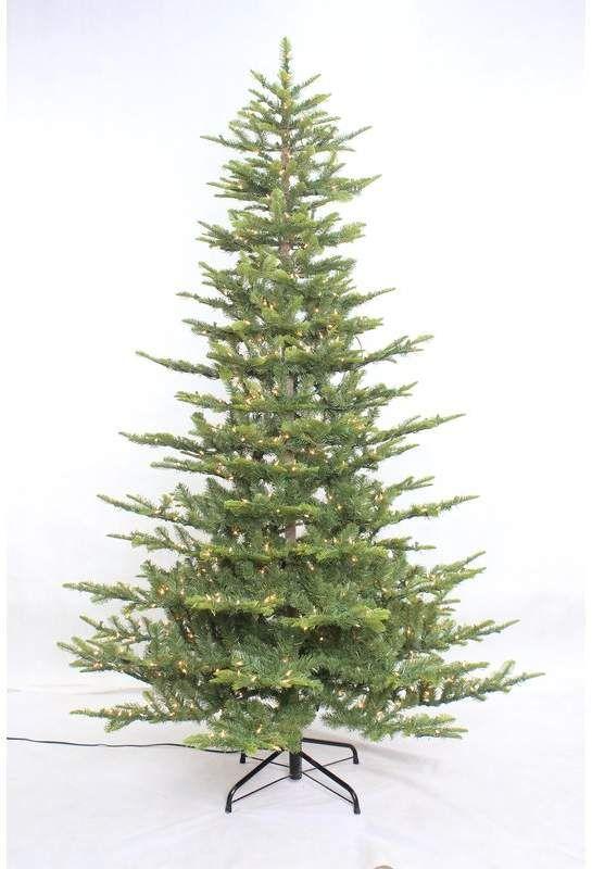 Lark Manor Aspen Green Fir Artificial Christmas Tree With Warm White Lights Fir Christmas Tree Cool Christmas Trees Pine Christmas Tree