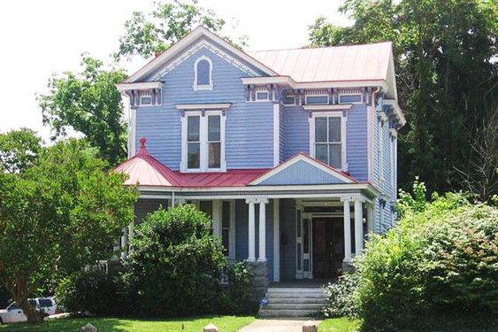 Restored Queen Anne Victorian. Large designer kitchen, bay windows, refinished hardwood floors & security system. Large English bsmt. has it's own entrance. Could be developed into living area with 5 separate rooms & rough in for plumbing.