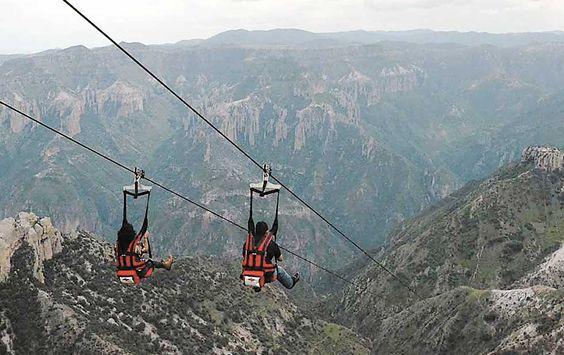 Promueven la nueva atracción de Parque de Aventuras Barrancas del Cobre | Ah chihuahua