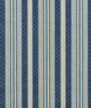 Waverly Etienne Indigo Fabric - by the Yard
