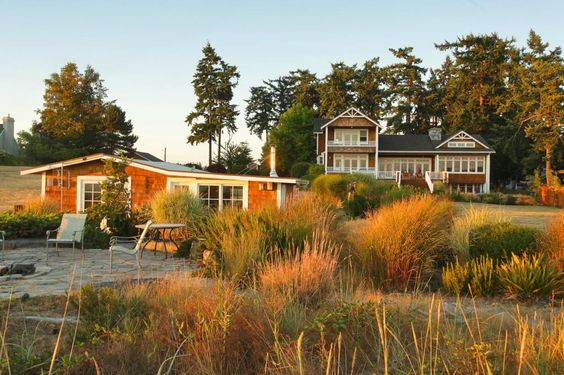 Sigh! Another perfect Pacific Northwest beauty. Love the siding and porches.