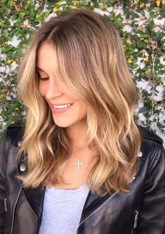 48 Best Medium Length Honey Blonde Haircuts In 2018 Do You