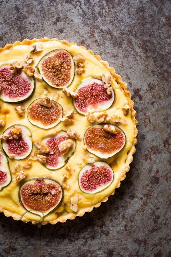 Hello autumn! Fig sweet tart/ ¡Hola otoño! Tarta de higos. .