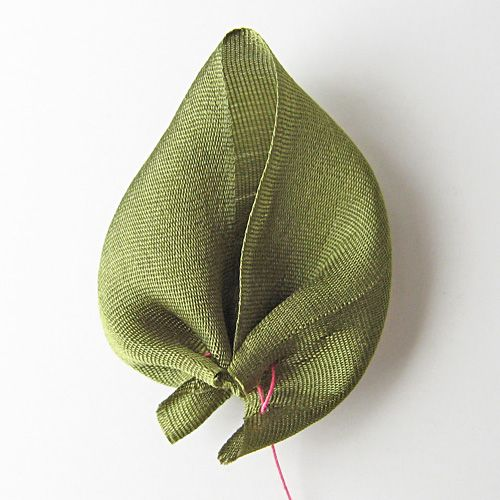 How to make a prairie point leaf everything silk by