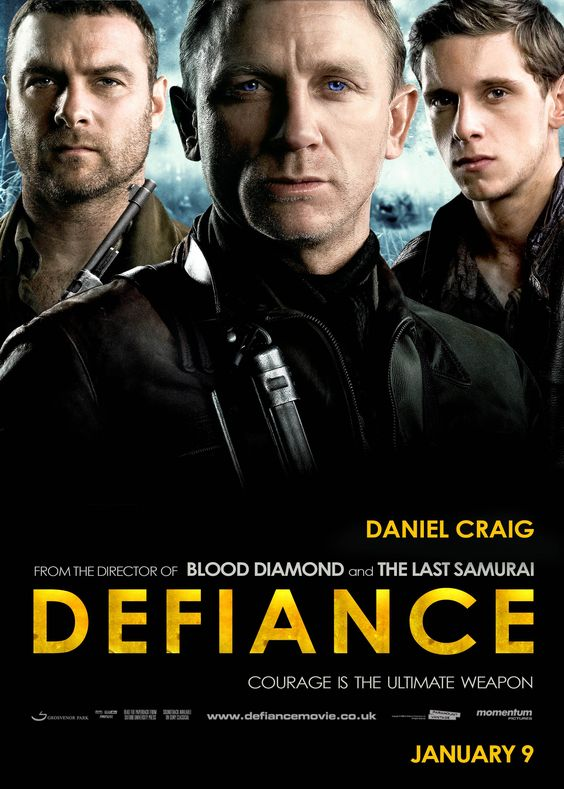 defiance sibling and asael 'defiance' stars daniel craig, liev schreiber, jamie bell  defiance, holds you, and its story is remarkable the telling of that story we know these woods, says tuvia's brother asael, played by jamie bell they'll never find us here.