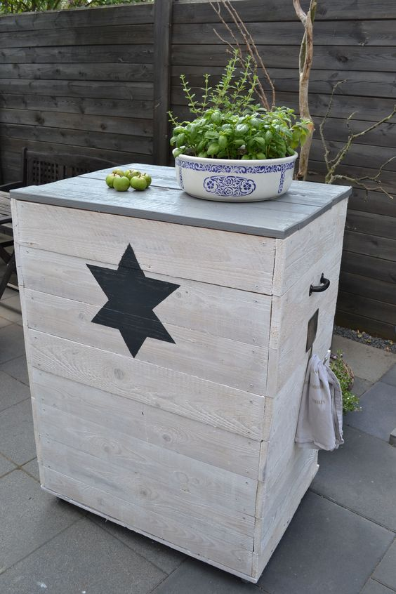 upcycling aus alt mach neu gartenm bel aus altholz. Black Bedroom Furniture Sets. Home Design Ideas