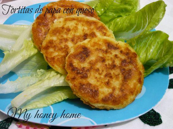 TORTITAS DE PAPA (ricas, crujientes y no se desbaratan) | ~Honey home~