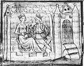 Les fondateurs de l'abbaye Ste Genevière de Paris: Clovis et Clotilde.- CLOTILDE. 1) BIOGRAPHIE.1.3: REINE DES FRANCS, 5: Le baptême du roi Clovis et sa soeur ALBOFLEDE fut célébré lors d'un Noël, vraisemblablement entre 496 et 499. Clovis et Clotilde résidaient le plus souvent à Clichy, Epineuil, Chelles, Rueil ou Bonneuil.
