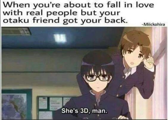 She is 3D