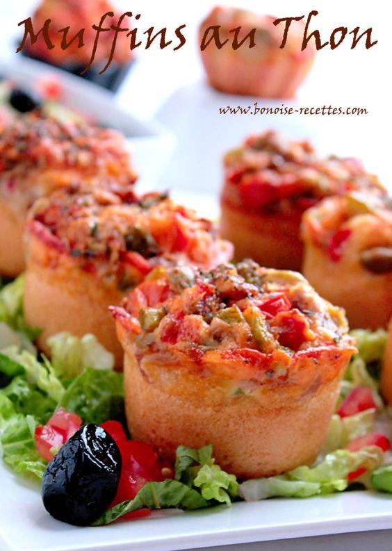 Muffins au thon - Bonoise recettes