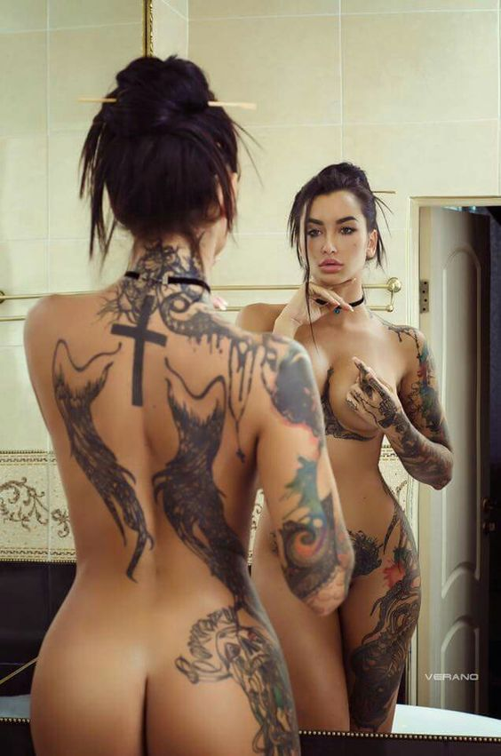 Female Tattoos On Private Areas Of The Body Girls Of Desire 1