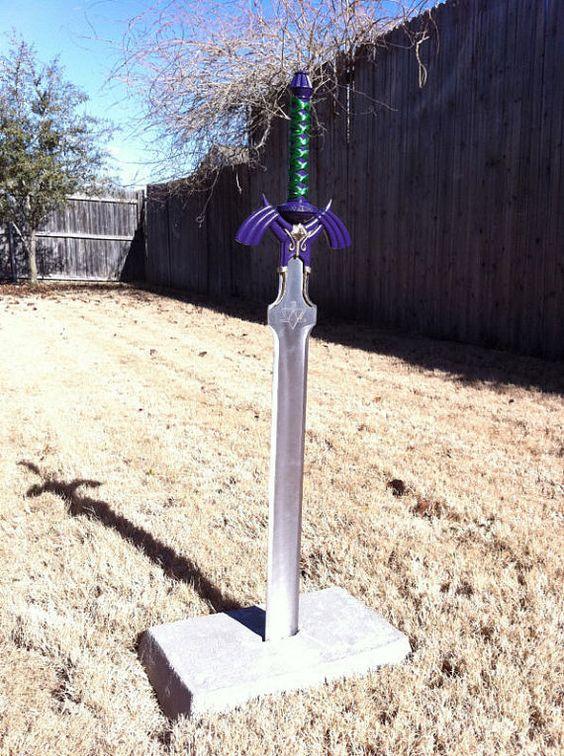 Zelda Master Sword Replica Made Of Metal 250 Only 250