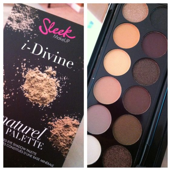 Sleek Makeup Au Naturel i-Divine Palette