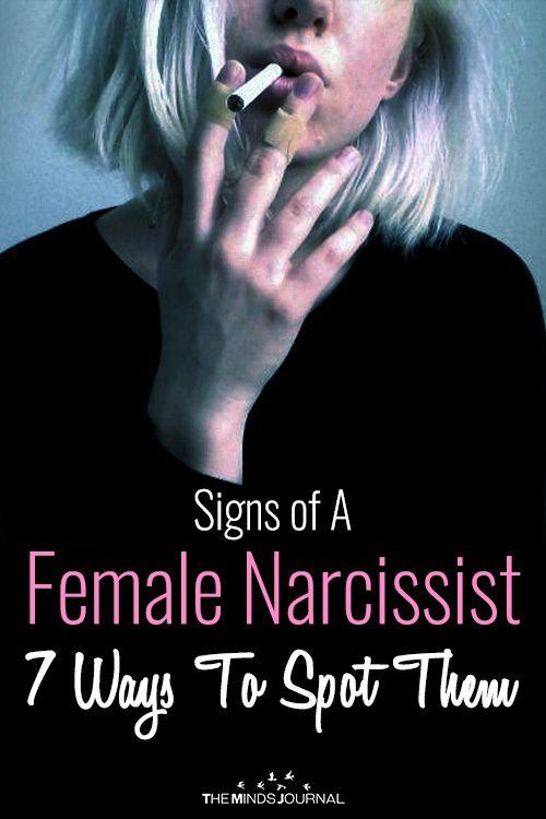 Female narcissistic characteristics
