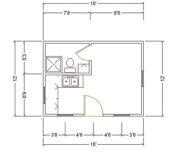 Camp house floor plans