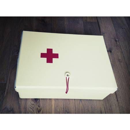 Les medicaments dans une belle boite