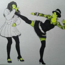 プ女子百景《プロレス女子図鑑》の画像