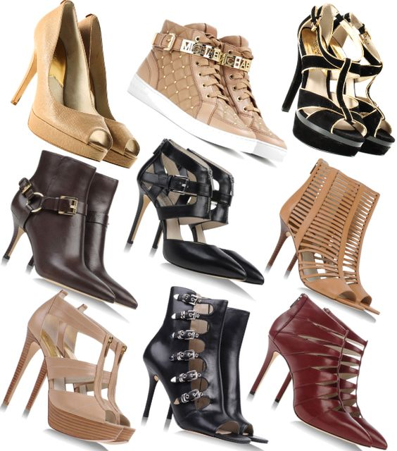 Michael Kors - Shoes #fashion #style #look #dress #mode #outfit #michaelkors