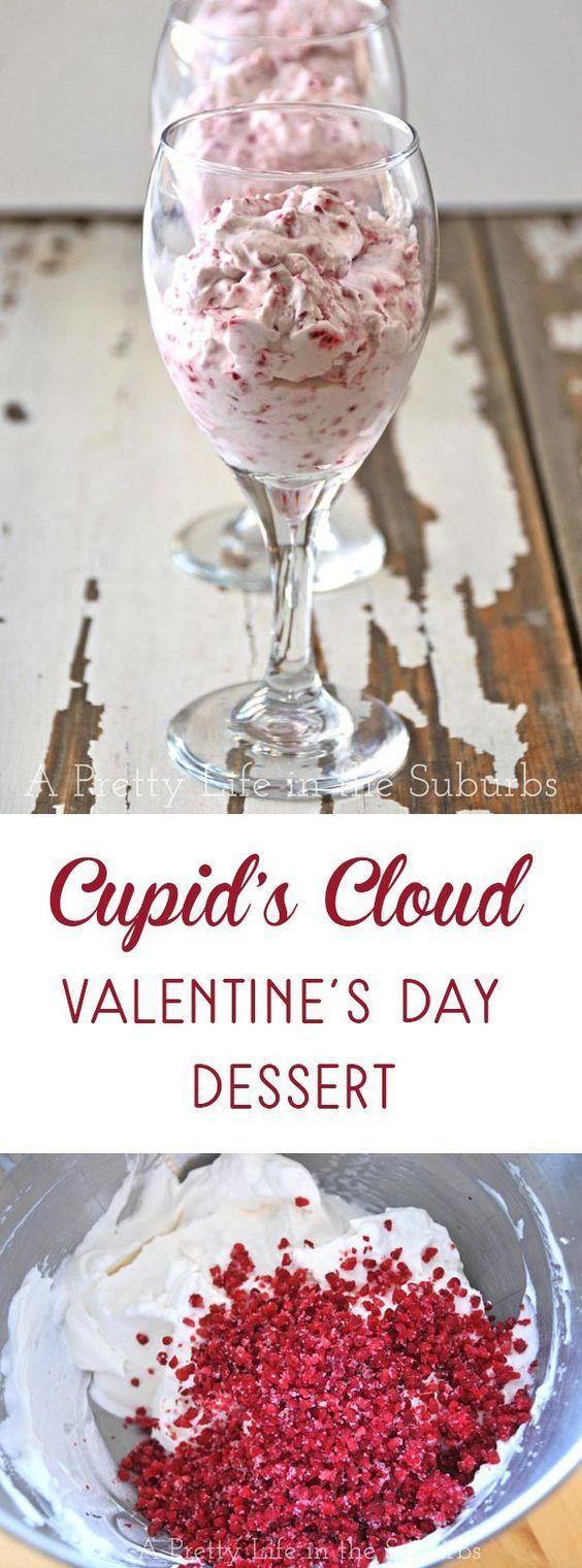 Cupid's Cloud...A Valentines Day Dessert