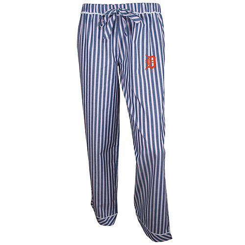 Detroit Tigers Women's Honor Roll Striped Lounge Pant by Concepts Sport