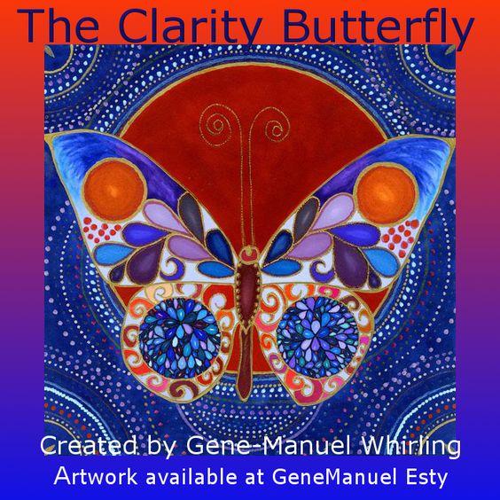 The Clarity Butterfly http://www.etsy.com/shop/GeneManuel