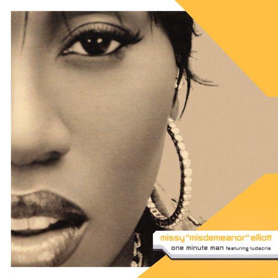 Missy Elliott, Ludacris, Trina – One Minute Man (single cover art)