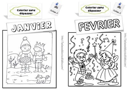 Colorier Sans Depasser Ms Cursive Math Gs Et Ecriture Cursive