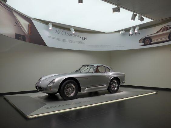 Alfa Romeo Museum | 2000 Sportiva 1954: