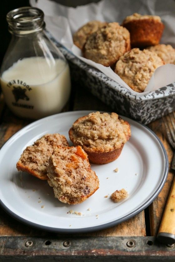 Apricot Pecan Streusel Muffins - A Perfect Way to start the day!!