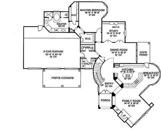 - 41930DB | 1st Floor Master Suite, Den-Office-Library-Study, Jack & Jill Bath, Media-Game-Home Theater, PDF, Southern | Architectural Designs