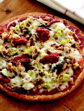 Rocco DiSpirito's Individual Crispy Loaded Pizza          Individual Crispy