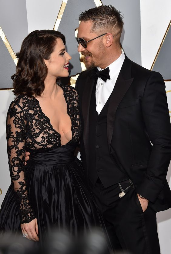 Charlotte Riley and Tom Hardy  | Best Oscar Couples