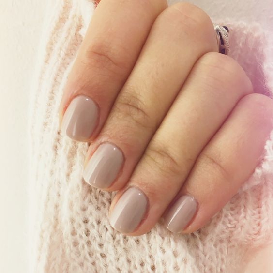 Field Fox CND Shellac- New favorite color!! Looks more purple toned in natural light and more gray in artificial light