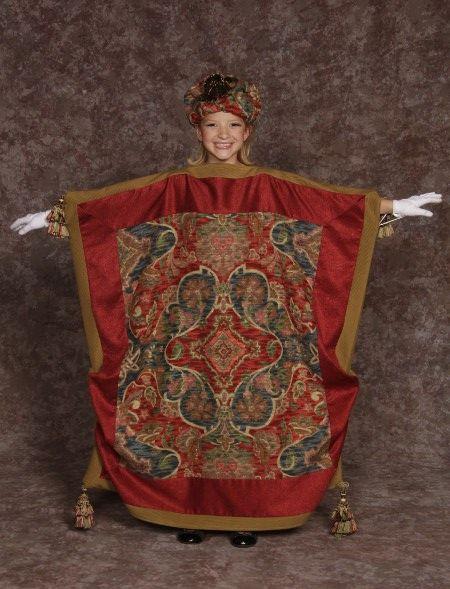 35 00 Carpet Costume Gloves Hat Aladdin Jr