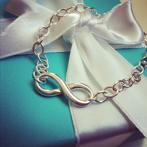 Tiffany Infinity Bracelet......perfect gift from a significant other ;)