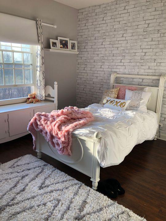 White Brick Removable Wallpaper Brick Wall Bedroom Brick Room White Brick Wallpaper Bedroom