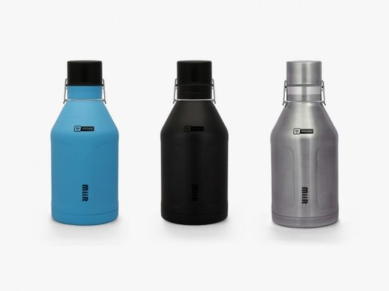 MiiR Growler. The MiiR Growler is a vacuum-sealed insulator that keeps cold liquids cold and hot liquids hot. With an innovative clamp system that prevents the leaks and the nasty gunk you find in others, the 64-oz Growler proves to be the best in the market.
