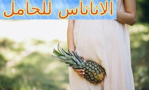 الاناناس للحامل هل تفيدها أم تضرها Pineapple Pregnant Fruit