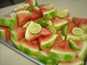 Mommy's Kitchen: Tequila Soaked Watermelon Wedges ...