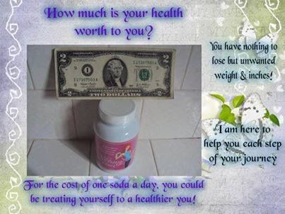 I get asked a LOT what the price is of Skinny Fiber. The MOST you would pay is $2 per day.