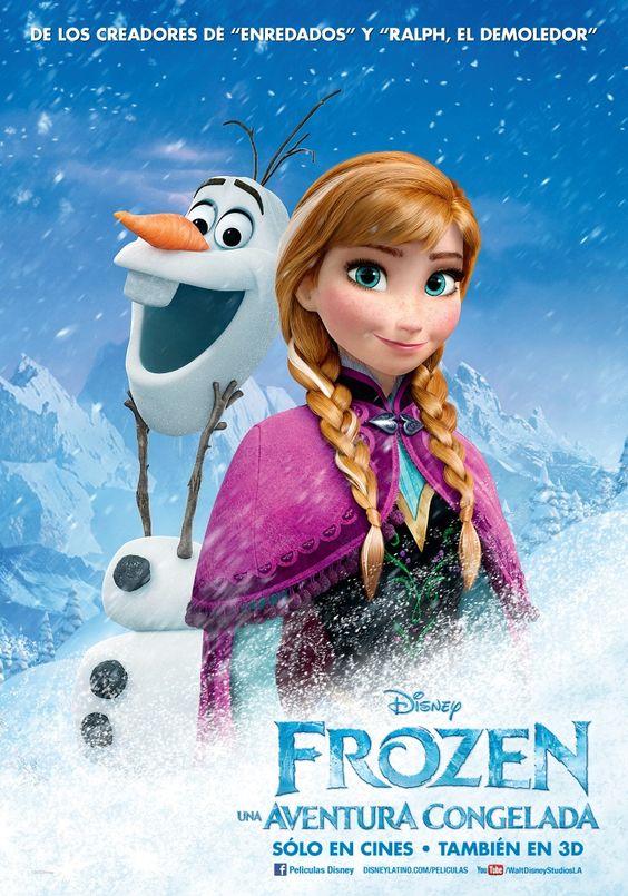 Frozen: Una Aventura Congelada   Poster