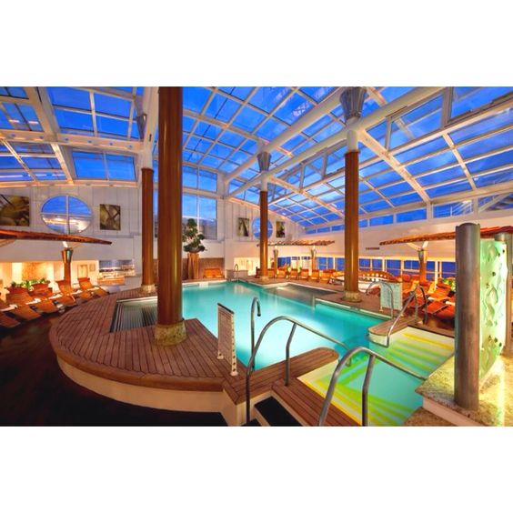 Celebrity Cruise Spa Sanctuary....this really needs to be experienced!
