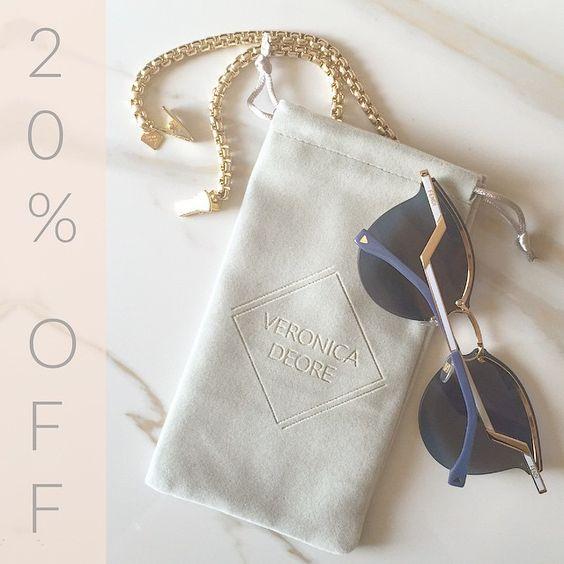 shop VeronicaDeOre.com for 20% off all Statement Eyewear Jewelry! code MEMORIAL // start of summer // weekend // memorial day // sale // memorial day weekend / // online shopping // trending // spring2015 // shop // fashion // shopsale // ootd // america // promocode // sunglasses // eyewear // glasses