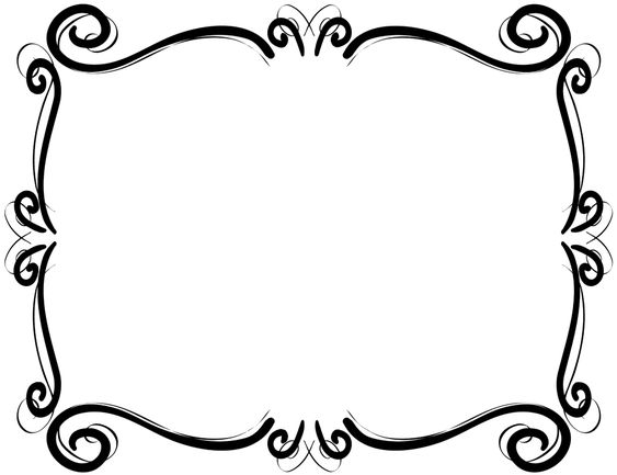 Free Clip Art Borders Scroll - Cliparts and Others Art ...
