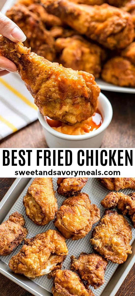 Fried Chicken Recipe Video Sweet And Savory Meals Recipe Fried Chicken Recipes Best Fried Chicken Recipe Recipes